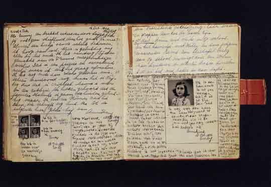 buku asli diary anne frank