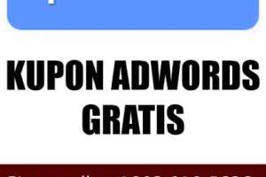 kupon adwords gratis
