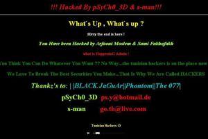 blog wordpress kena hack