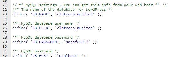 Mengganti WP Config WordPress