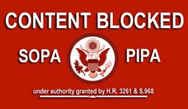 SOPA PIPA Membuat Banyak Website Disensor dan Diblokir