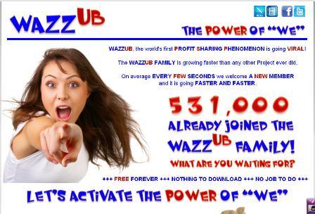 wazzub scam