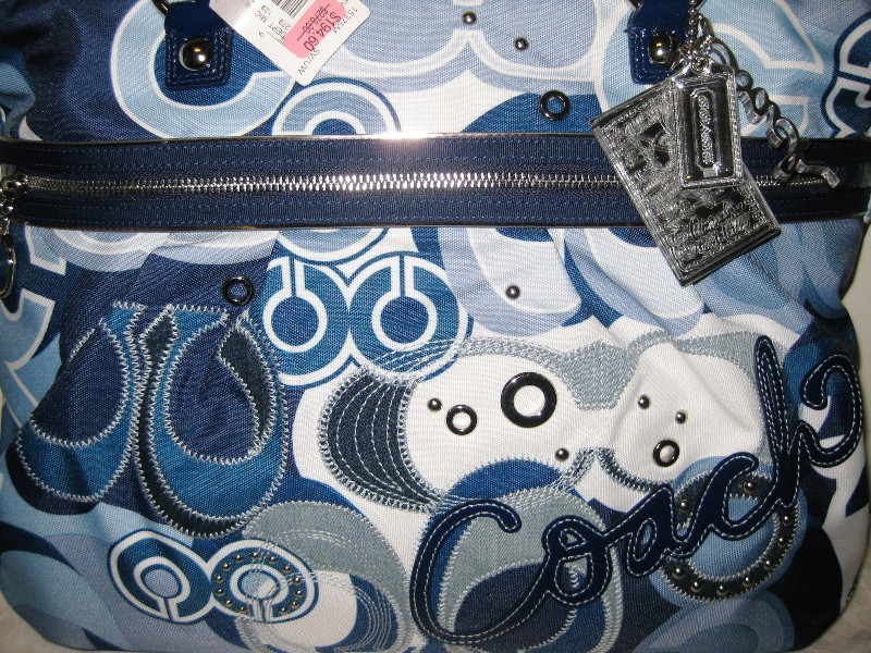 Tas Coach Bag Poppy Pop C Denim 3