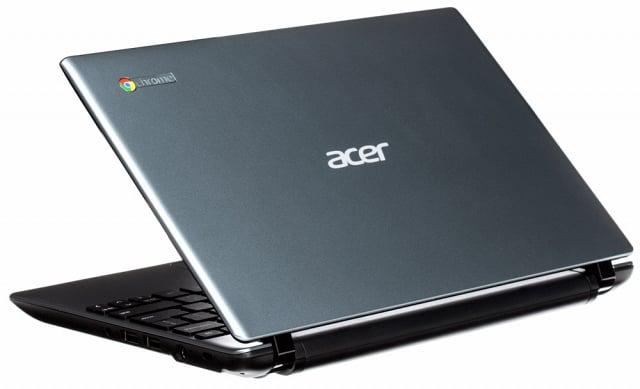 Acer C7 Chromebook dengan sistem operasi Google Chrome