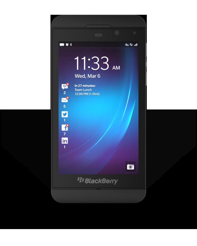 BlackBerry Z10 Indonesia