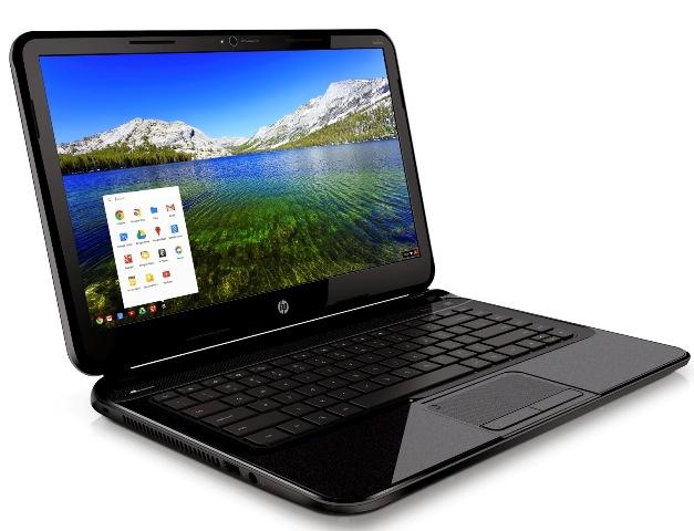 HP Pavilion Chromebook dengan sistem operasi Google Chrome