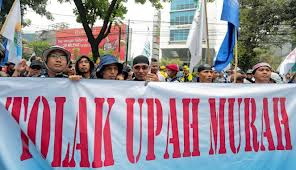 Demo Buruh May Day