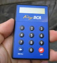 Key BCA Kotak Gepeng
