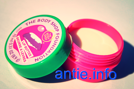 The Body Shop Lip Butter Dragon Fruit Lip Balm