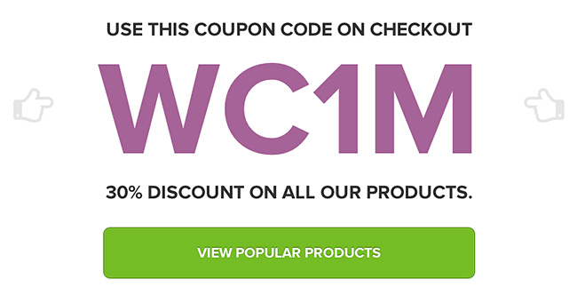 Woocommerce Discount 30 percent