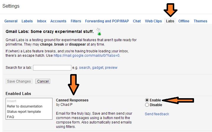Membuat E Mail Template Di Gmail