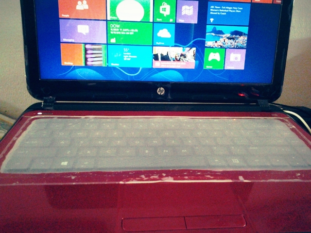 HP Sleekbook core i3 merah