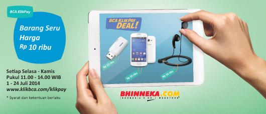 Promo Bhinneka BCA KlikPay