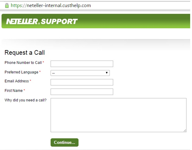 neteller request call back