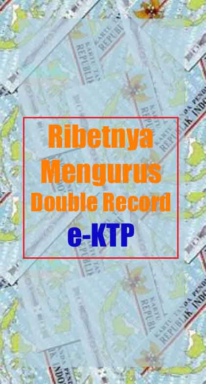 double record e-ktp