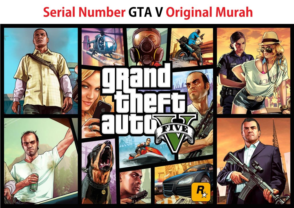 Serial Number GTA 5 Original Murah