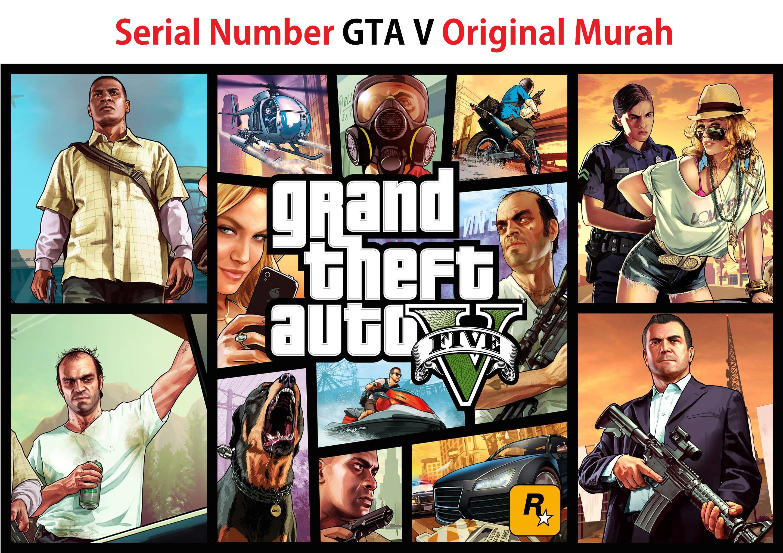 Serial Number GTA 5 Original Murah