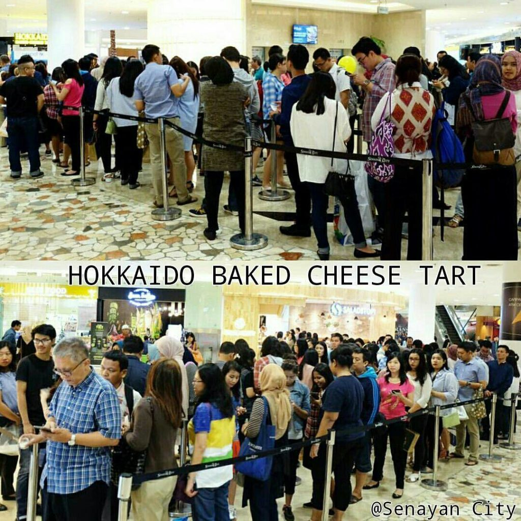 Baked Cheese Tart Indonesia