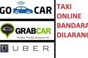 no taxi online bandara