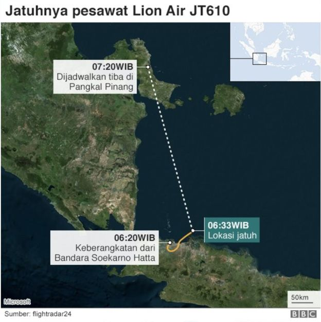 Turut Berduka Cita Untuk Korban Lion Air JT610