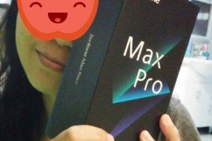 unboxing asus zenfone max pro m2