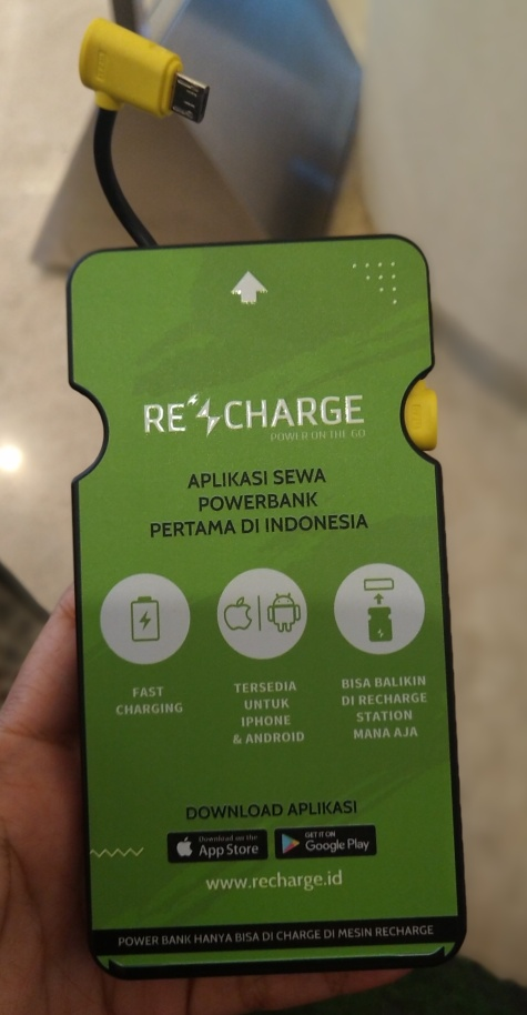 sewa power bank recharge