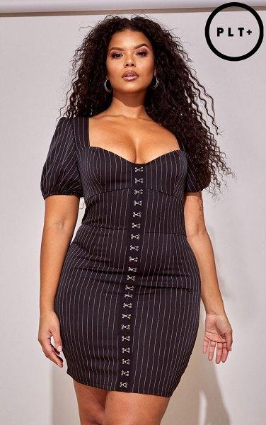 bodycon dress untuk orang gemuk