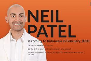 Neil Patel Akan Ke Indonesia