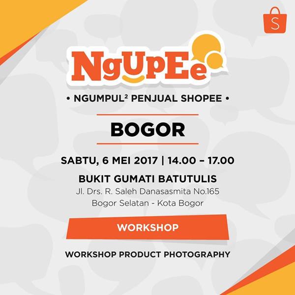 Ngupee di Jakarta Ngumpul-Ngumpul Penjual Shopee