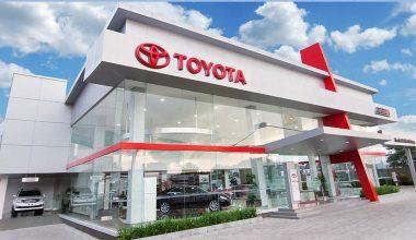 Showroom Toyota Ciledug Tangerang Selatan