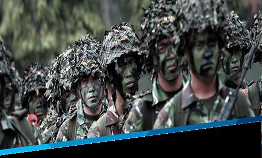 Jual Baju TNI, Seragam, Tas, Topi Online di Ladara